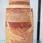 Urnas ibericas policromadas